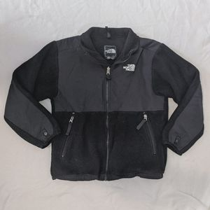North Face black fleece jacket / coat